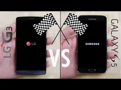 LG G3 vs. Galaxy S5 Speed Test