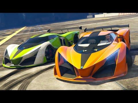 GTA 5 Online - NEW Supercar Grotti X80 Proto RACING! NEW GTA 5 Finance and Felony DLC! (GTA 5 DLC)