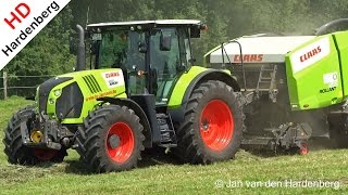 Claas Arion 650 | Claas Rollant 455 Uniwrap | Kalkar | Germany | 2014.