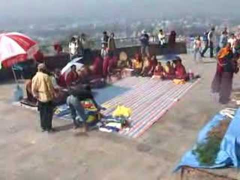 Tibetan Chants Swayambunath