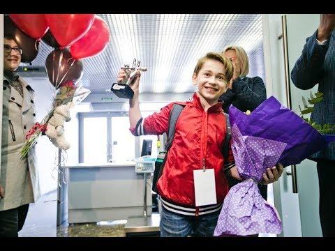 Рутгер Гарехт вернулся в Оренбург. Встреча в аэропорту.