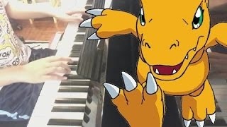 Butterfly - Digimon 數碼暴龍 OP [Piano Cover]