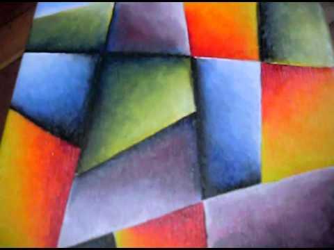 Pintura al leo abstracto moderno youtube for Fotos de cuadros abstractos al oleo