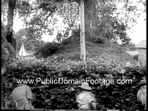 Congo War Battle for Katanga Newsreel PublicDomainFootage.com