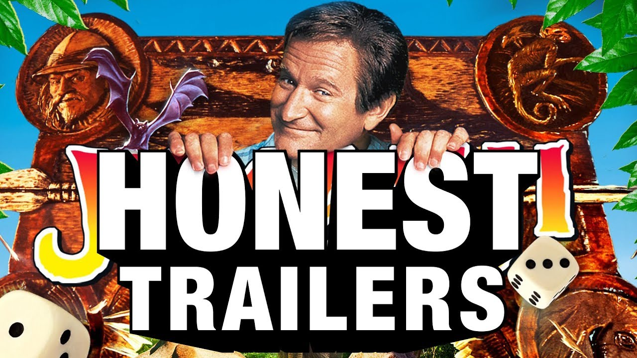Remember Jumanji  Honest Trailers Does