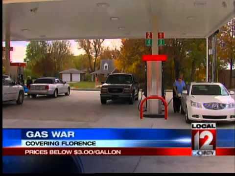 Gas Price War in Florence