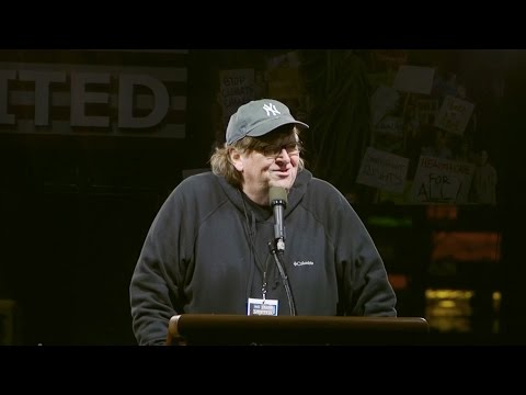 """Michael Moore to 25,000 NYC Protesters: """"There's More of Us Than There are of Them!"""""""