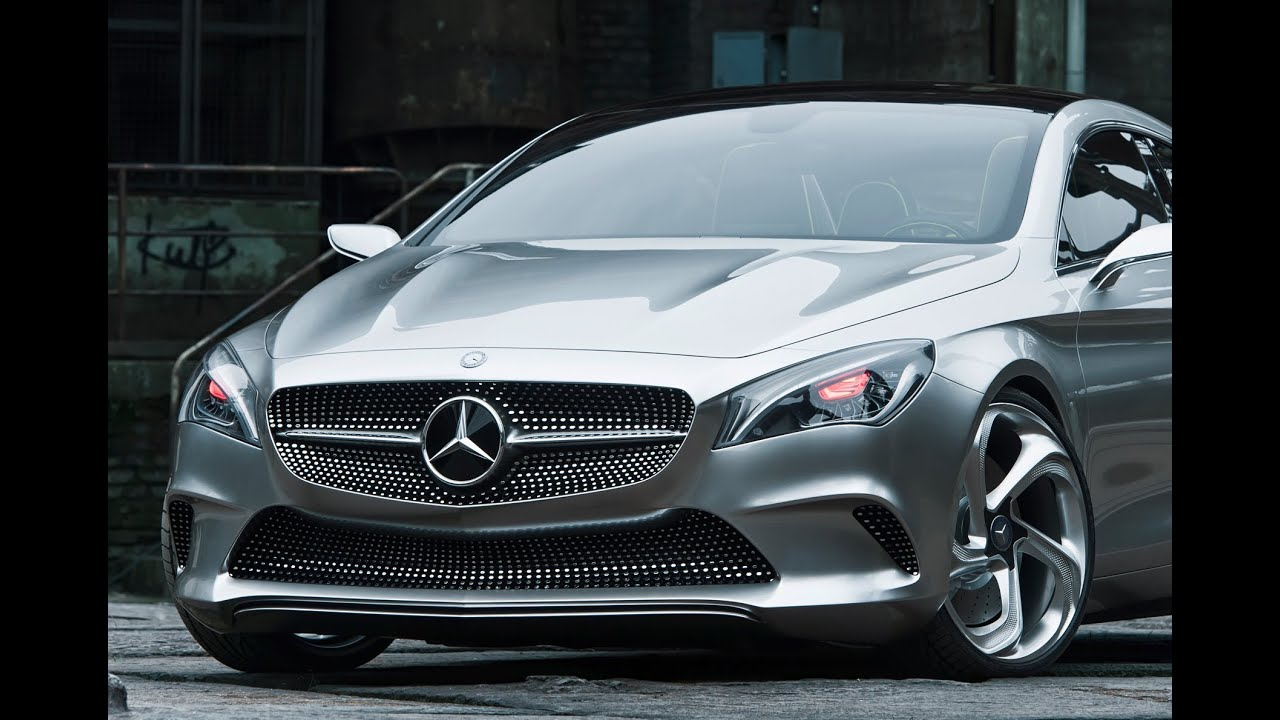 Concept Style Coupe Premiere -- Mercedes-Benz - YouTube