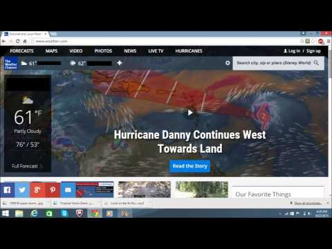 WNN SPECIAL REPORT Hurricane Danny pt 2
