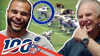 Roger Staubach & Dak Prescott Share Embarrassing TV Appearances | NFL 100 Generations