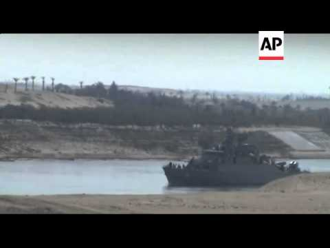 Iranian naval vessels enter Suez Canal first time in three decades, reax