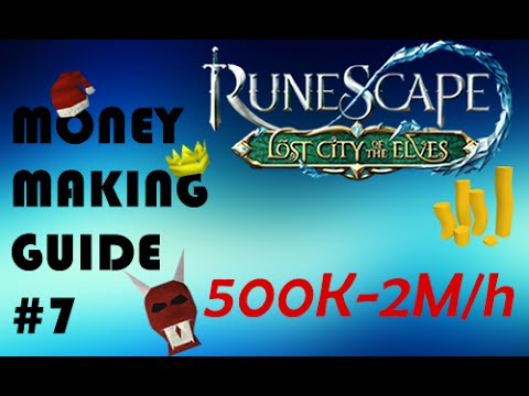 Runescape Money Making Guide #7: 500k-2M/h November 2014 [P2P]