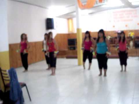 coreografia de salsa (pa delante) iglesia b inta