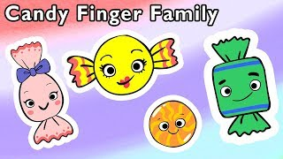 🍬 Candy Finger Family and More 🍭 | SWEET TREATS | Nursery Rhymes from Mother Goose Club!