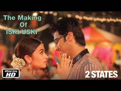 Iski Uski - Making of Song -  Arjun Kapoor & Alia Bhatt