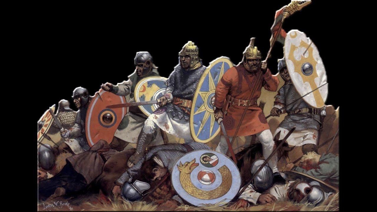 Вооружение и тактика галлов и кельтов