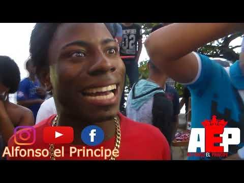 2 LOCOS EN APUROS!!! Mampulo Black vs La Grasa Diez - Freestyle en Guibia