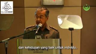 Islam sebagai addin berpandukan al-Quran dan hadith shahih - Tun Mahathir Mohamad