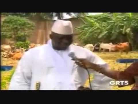 Gambia Military President, Yahya Jammeh