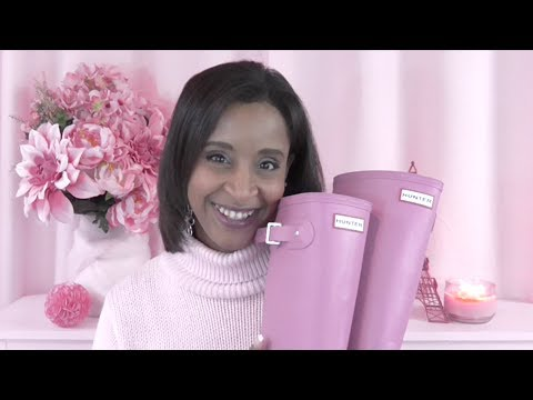 Hunter Boots Unboxing!!