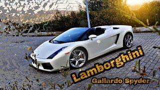 2007 Lamborghini Gallardo SPYDER 520cv , walk around and details #supercar #lambo #V10