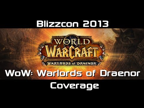 Warlords of Draenor | Garrisons In-depth Panel Coverage Blizzcon 2013