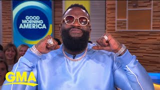 Rick Ross discusses his rise to fame as well as his new memoir on 'GMA' | GMA