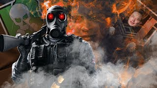 Smoke Finds Out Whats in The Canister - Rainbow Six Siege Memes