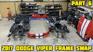 Rebuilding a Wrecked 2017 Dodge Viper Part 6