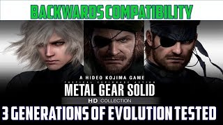 Metal Gear Solid HD: Backwards Compatibility Analysis | PS2-XBOX-XB1-X1X