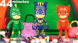 PJ Masks Halloween House, PJ Masks Halloween Costumes, PJ Masks and Paw Patrol Trick or Treating