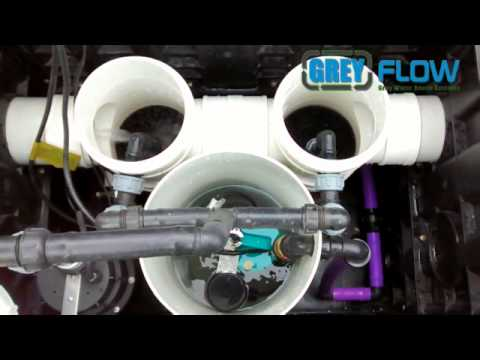 Grey Flow PS Plug & Play - Greywater system