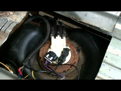 GMC / SILVERADO pickup quick fuel pump fix.