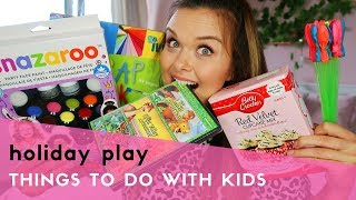 SUMMER HOLIDAY ACTIVITIES WITH KIDS - EASY & CHEAP
