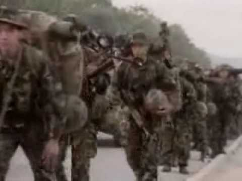 Kosovo War - Allies go in / NATO Intervention