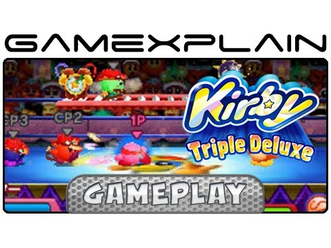 how to play multiplayer on kirby triple deluxe