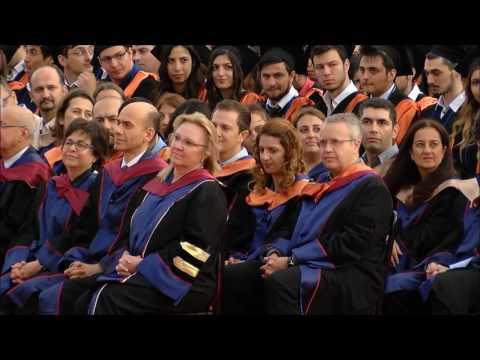 Özyeğin Üniversitesi IV. Mezuniyet Töreni 2015