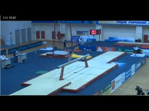 Anastasia Grishina - Beam - Day 2, Russian Championships, 3/22/2012