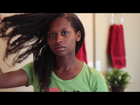 Natural Hair: UPDATED Wash n Go Routine 2012