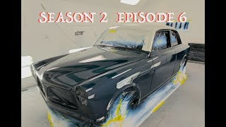 B16 Front Nose and Painted 2 Tone Volvo Amazon (S2 Ep6)