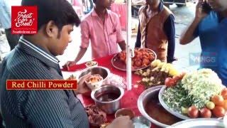Yummy Aaloo Chaat   Aaloo Ragada Chaat   Aaloo Chana Chaat   Mumbai Yummy Street Chaat