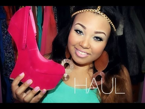 HOW TO WALK IN HEEL-LESS HEELS & MAKE ME CHIC SHOE HAUL