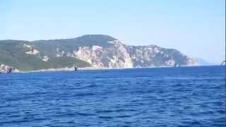 """Near Paleokastritsa coast  with """"Yellow submarine"""" (3)"""