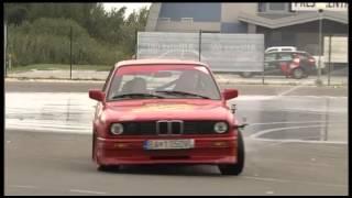 Maťo Homola & Drift training with MM Racing (Športové noviny - TV Markíza)