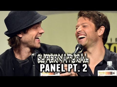 Supernatural Panel Part 2 Comic Con 2014 Jensen Ackles Jared Padalecki Misha Collins