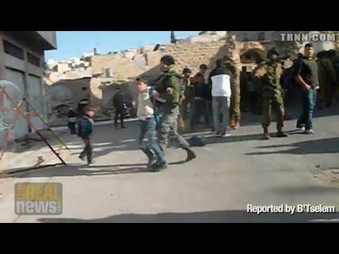 Palestinian Children Routinely Detained and Arrested By Israeli Authorities
