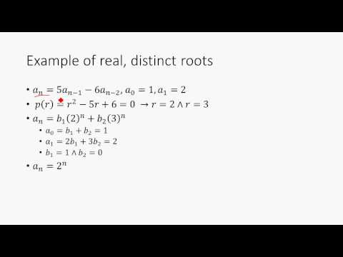Recurrence Relations Discrete Math Structures 11