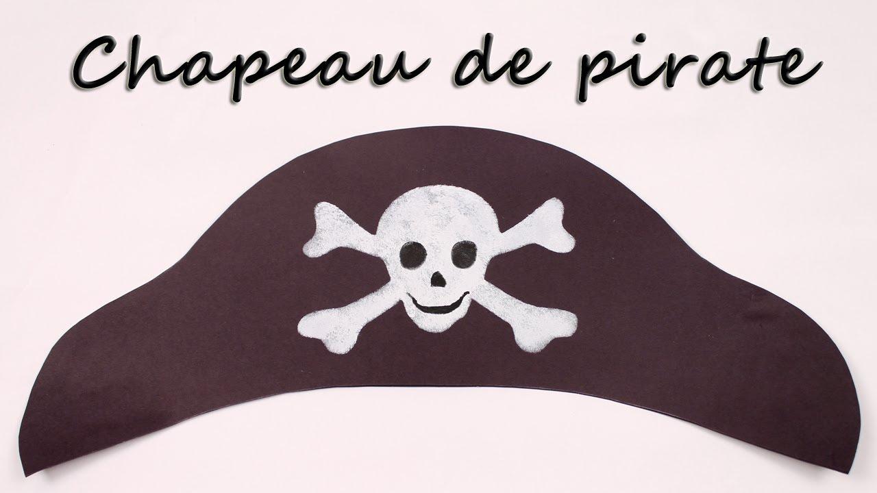 Comment faire un chapeau de pirate youtube - Comment faire un bricolage facile ...