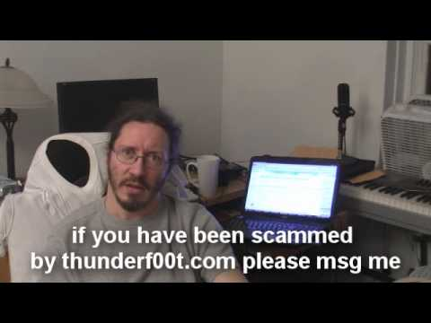 Thunderf00t.com IS A SCAM