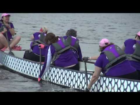 Breast Cancer Survivors Embrace Dragon Boat Challenge